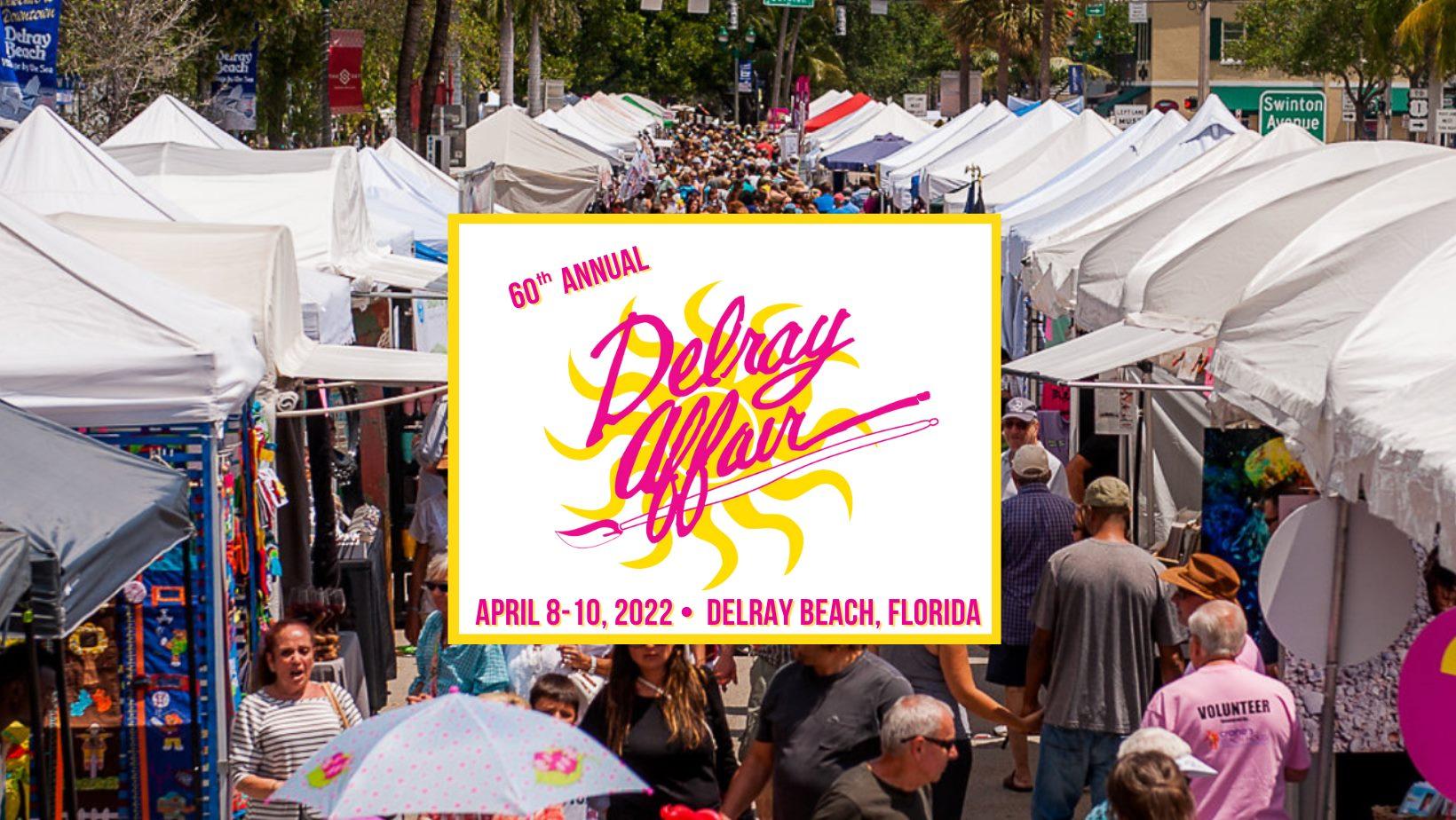Delray Affair Art Festival Delray Beach Florida